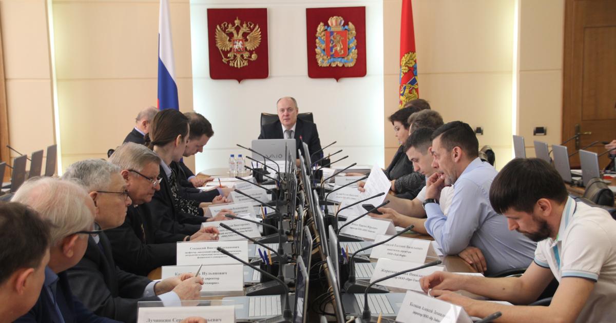 Расширенное совещание по нормативно-техническому обеспечению инновационного развития Красноярского края