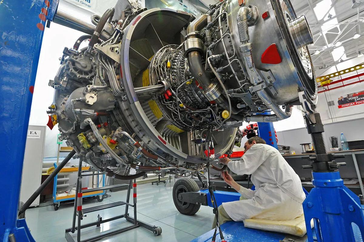 GTD 110M innovative high-power gas turbine engines