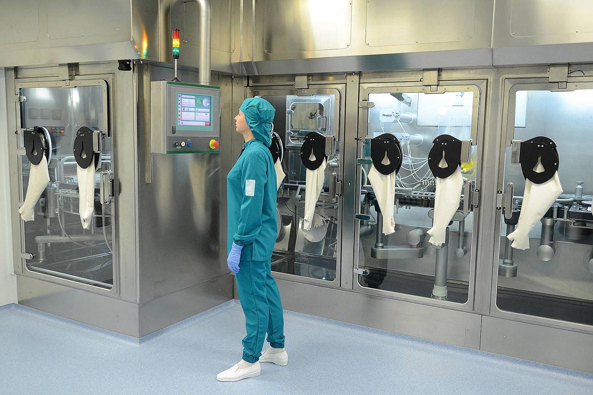 Nanolek company production facility