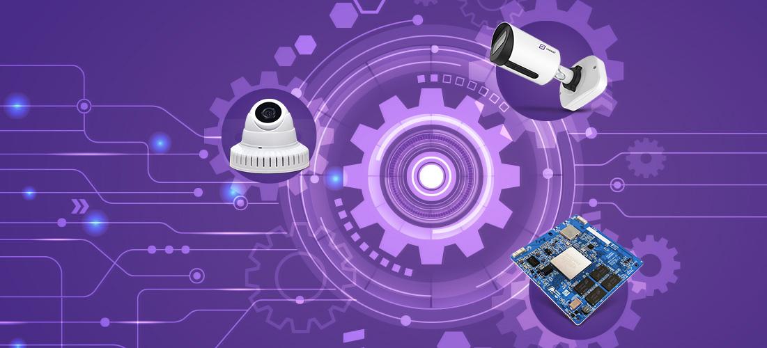 IP-камеры серии VisorJet Smart Mini для качественного видеонаблюдения внутри помещений