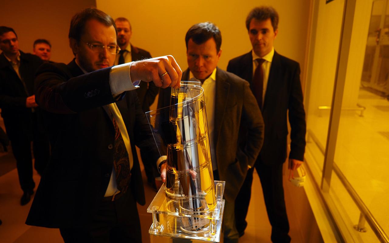 Сергей Куликов посетил с рабочим визитом Группу компаний «ТехноСпарк» в Троицке