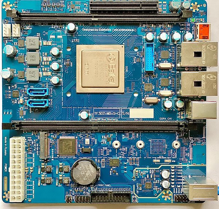 The Edelweiss board has a compact and unified design